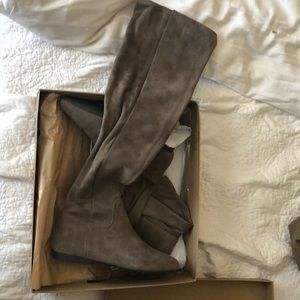 NWT Lucky Brand Over-The-Knee Boot